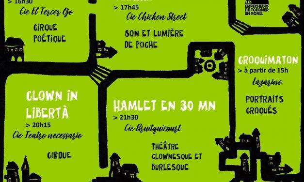 Théâtre de rue dimanche 22 juillet 2018