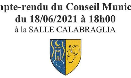 CR Conseil Municipal 18/06/2021