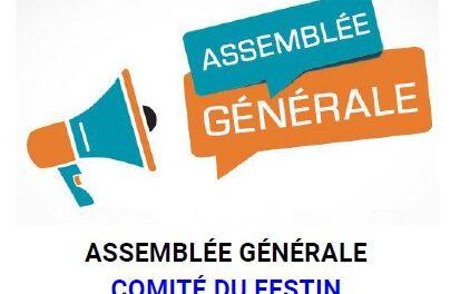 SAMEDI 25/09 AG COMITE DU FESTIN
