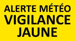"""Vigilance jaune """"CANICULE"""" Épisode vague de chaleur"""