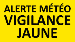 alerte météo vigilance jaune